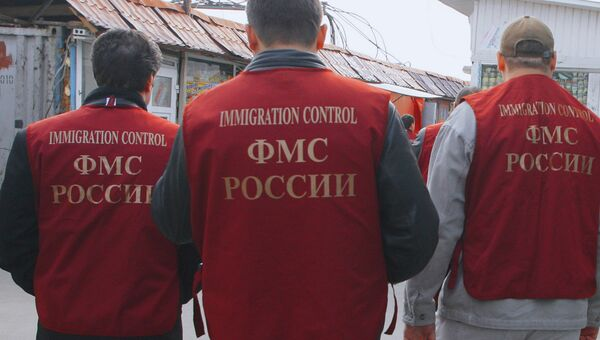 Федеральная миграционная служба провела проверку на одном из рынков столицы