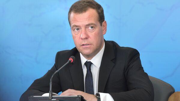 Рабочая поездка премьер-министра РФ Д.Медведева в Иркутскую область