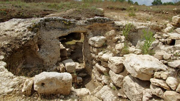 Археологические раскопки на мысе Фиолент