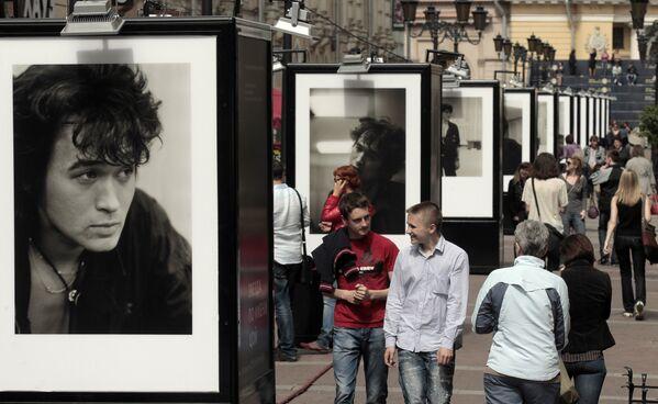 Выставка Звезда по имени Цой открылась в Санкт-Петербурге