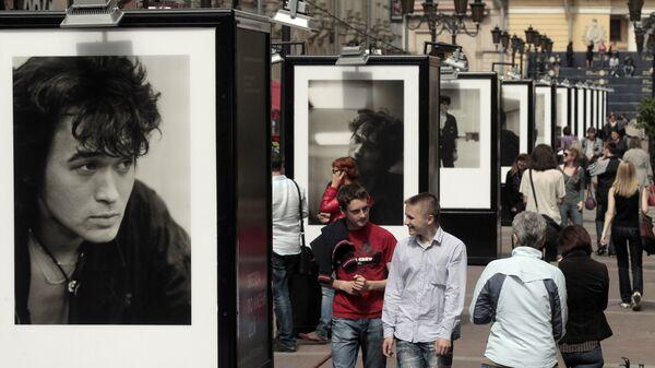 В 2012 году на Малой Садовой улице в Санкт-Петербурге проходила выставка, приуроченная к 50-летию со дня рождения певца.