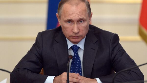 Президент России В.Путин провел совещание с членами правительства РФ