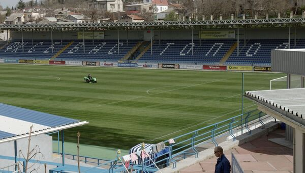 Домашняя арена ФК Севастополь стадион СКС-Арена