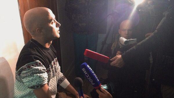 Британский журналист Грэм Филлипс ранен под Донецком