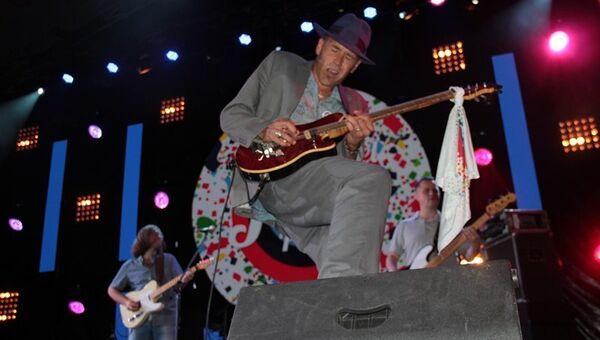Выступление британского блюзмена Уилла Джонса в первый день Koktebel Jazz Party