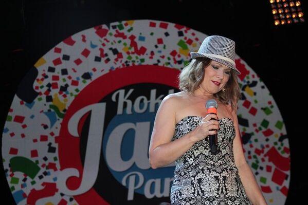Выступление джазовой певицы Анастасии Глазковой в первый день Koktebel Jazz Party