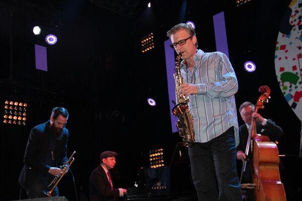 Выступление квинтета Якова Окуня в первый день Koktebel Jazz Party