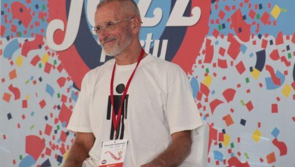 Второй день Koktebel Jazz Party. Российский джазовый гитарист, композитор Игорь Золотухин на пресс-конференции