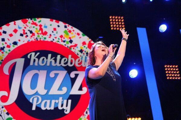 Второй вечер Koktebel Jazz Party. Концерт. Ольга Олейникова, участница телешоу Голос