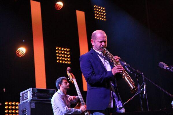 Второй вечер Koktebel Jazz Party. Концерт. Стефано ди Баттиста (Stefano Di Battista), итальянский джазовый саксофонист