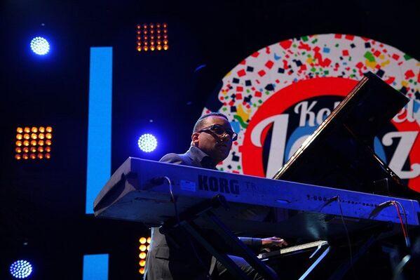 Второй вечер Koktebel Jazz Party. Концерт. Гонзало Рубалькаба (Куба), джазовый пианист и композитор,обладатель Грэмми
