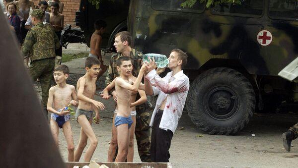 Спасенные заложники