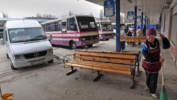 Автовокзал Центральный в Симферополе