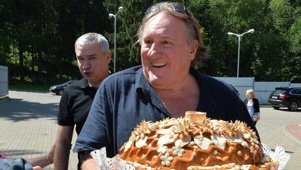 Актер Жерар Депардье посетил Белоруссию