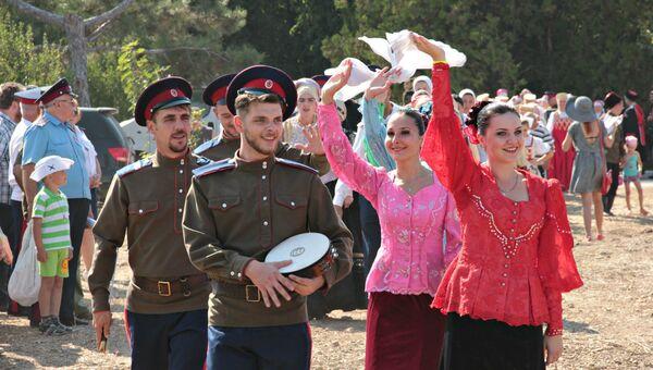 Крымские тулумбасы -2015