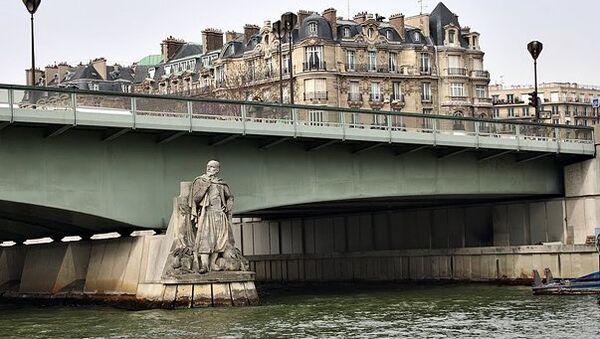 Мост Альма в Париже