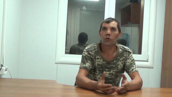 Еще один пьяный украинский военный пришел брататься в Крым