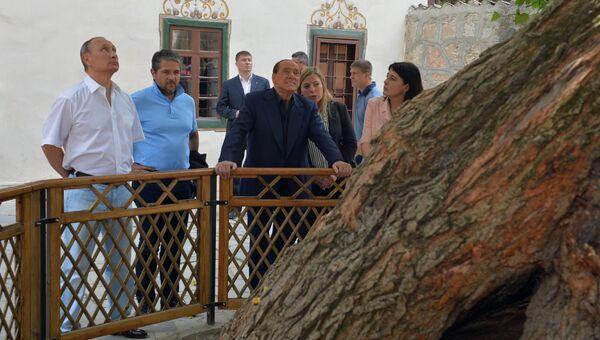Рабочая поездка президента РФ В.Путина в Крымский федеральный округ. Второй день