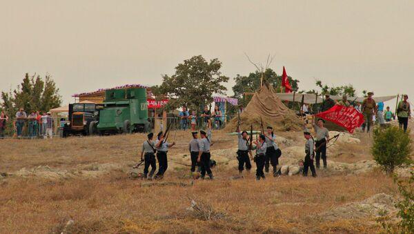 Военно-исторический фестиваль Федюхины высоты под Севастополем