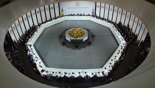 Заседание Совета регионального развития Украины