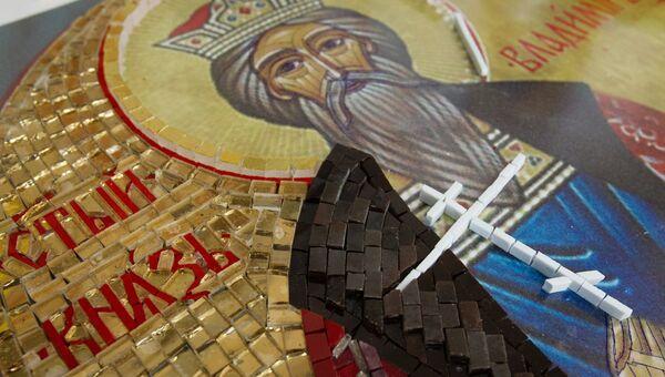 Изготовление поклонного креста для космодрома Восточный