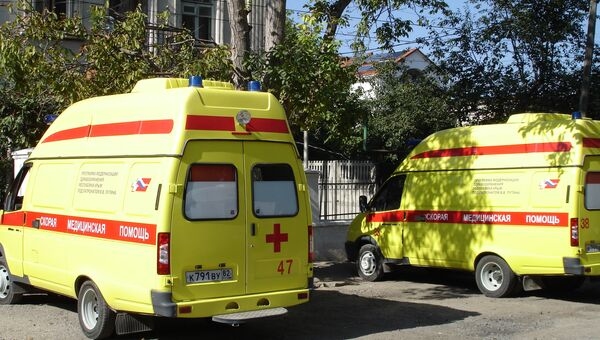 Вторая подстанция скорой помощи Симферополя, где злоумышленник расстрелял четверых медиков