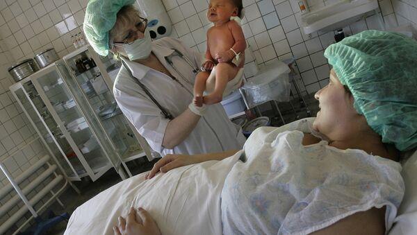 Работа родильного отделения