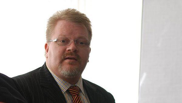 Финский правозащитник Йохан Бекман