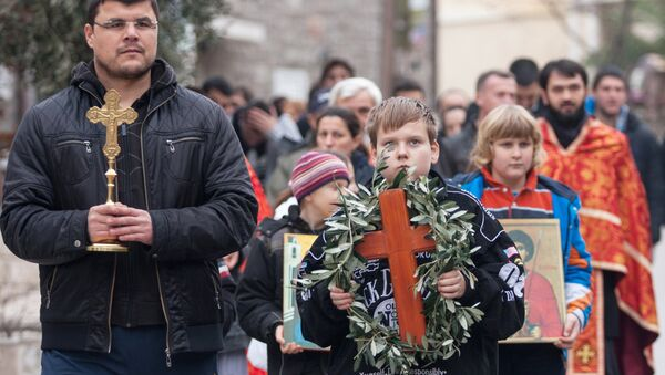 Празднование Крещения Господня в Черногории