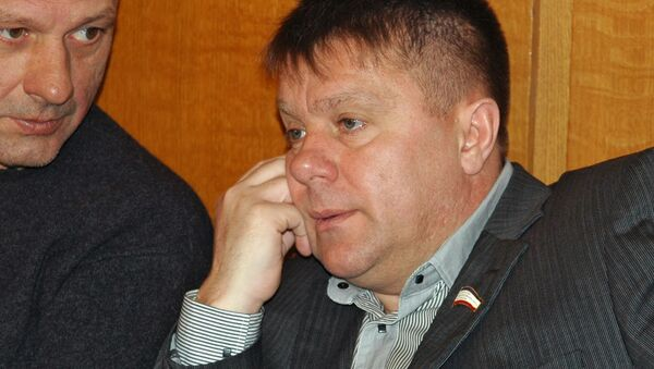 Сотрудниками ФСБ по РК задержан депутат Госсовета РК Валерий Гриневич