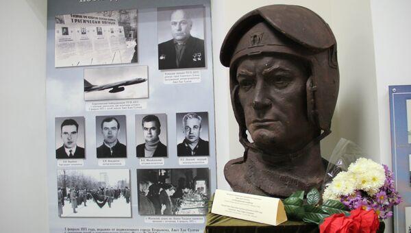Бюст Амет-Хану Султану в музее его имени в Алупке