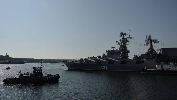 Сторожевой корабль Ладный перед походом в Средиземное море