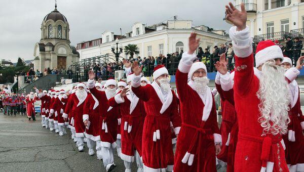 Фестиваль Мороз-парад в Ялте