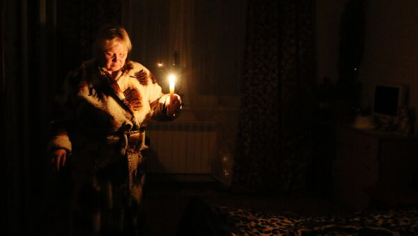 Ситуация с энергоснабжение Крыма