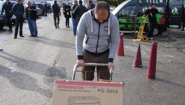 Крымчане скупают электрогенераторы