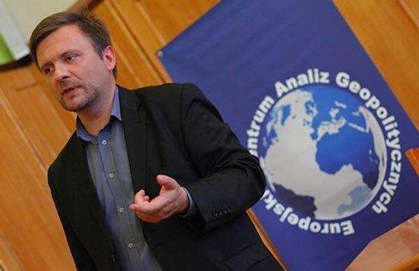 Польский политолог Матеуш Пискорский