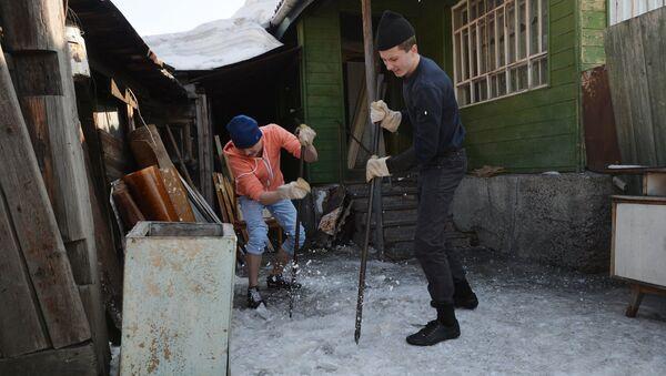 Акция Трудовой десант в Новосибирске