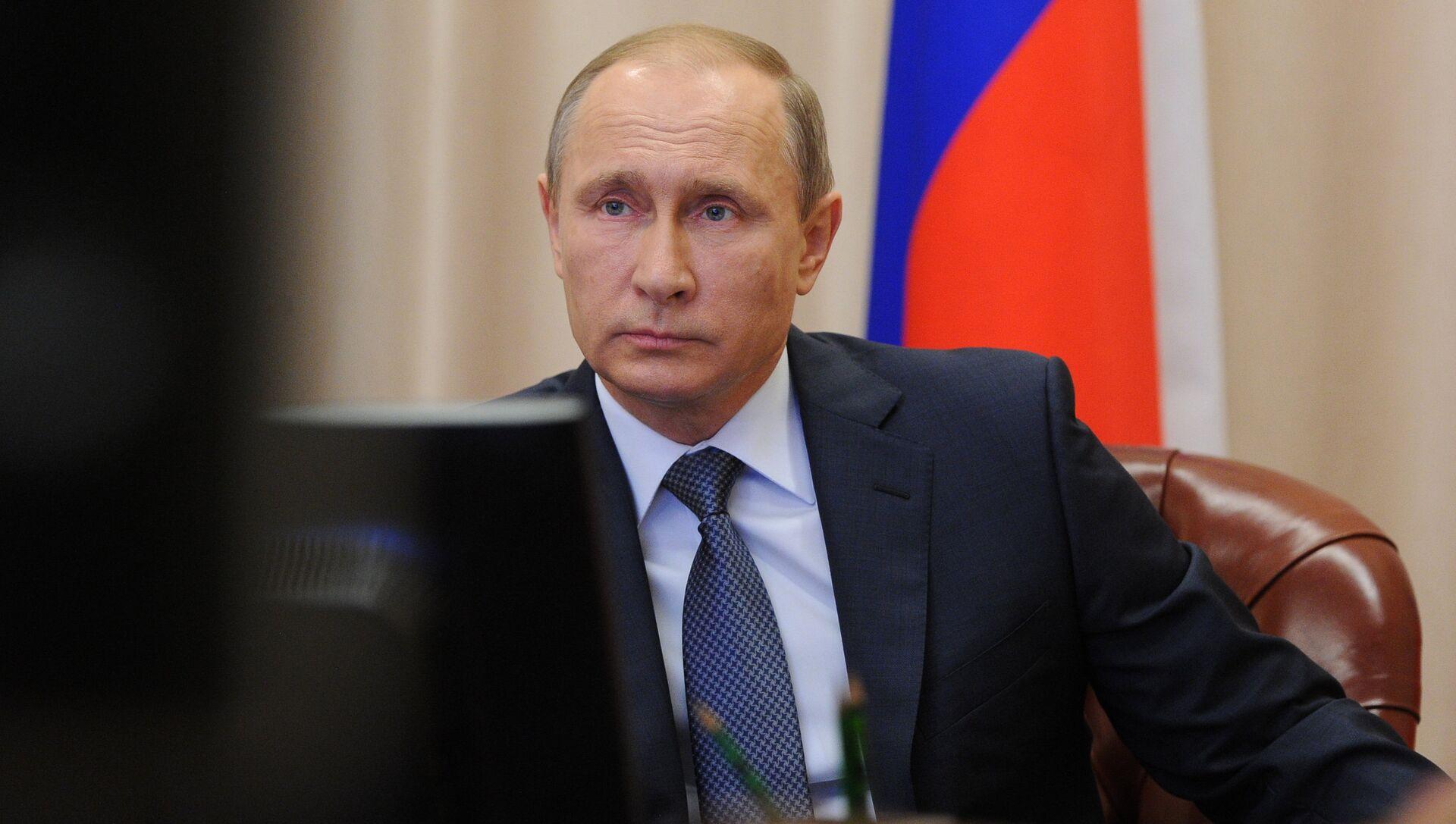 Президент РФ В.Путин - РИА Новости, 1920, 02.12.2015