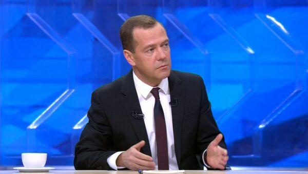 Медведев назвал геноцидом ситуацию с отключением электроэнергии в Крыму