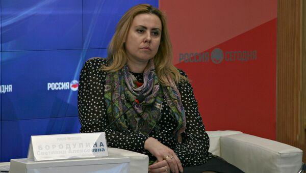 Министр топлива и энергетики Республики Крым Светлана Бородулина