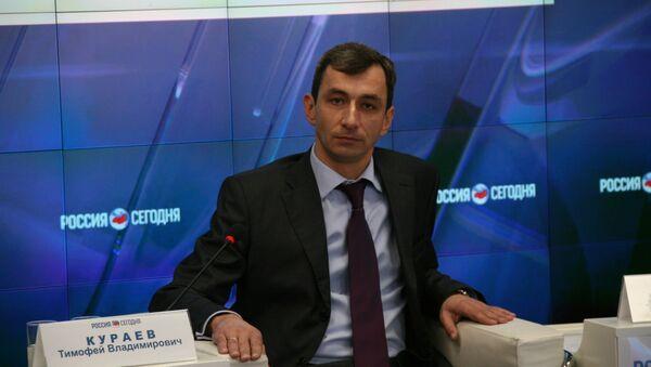 Руководитель крымского УФАС России Тимофей Кураев