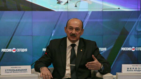 Министр курортов и туризма Крыма Сергей Стрельбицкий