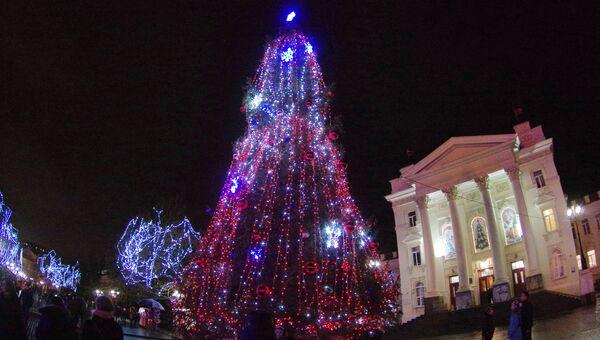 Открытие главной городской елки в Севастополе