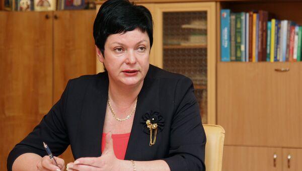 Министр образования Крыма Наталья Гончарова