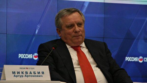 Премьер-министр Республики Абхазия Артур Миквабия