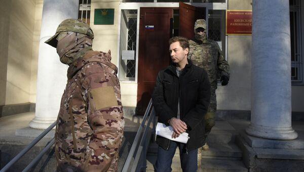 Судебный процесс над мэром Феодосии Дмитрием Щепетковым