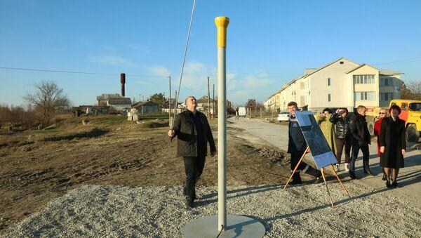 В Белогорске запустили вторую очередь газопровода высокого и среднего давления