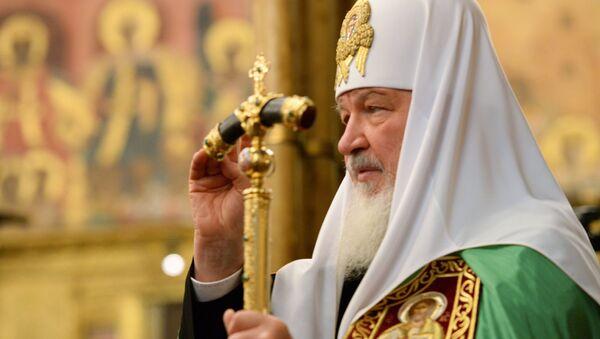 Патриарх Кирилл совершил Божественную литургию в праздник Казанской иконы Божией Матери
