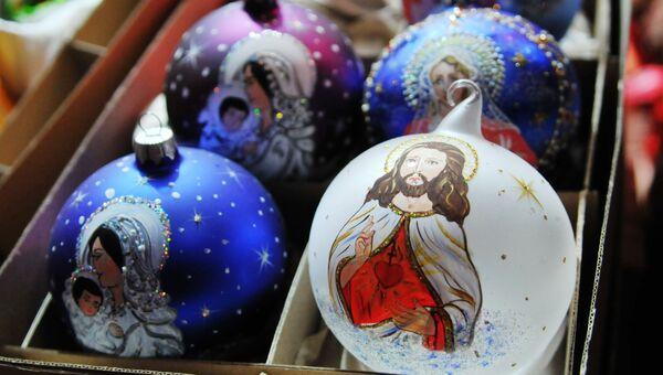 Праздничная ярмарка во Львове