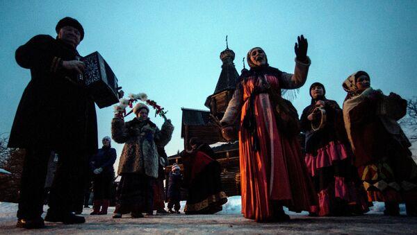 Праздник Васильев вечер в Великом Новгороде